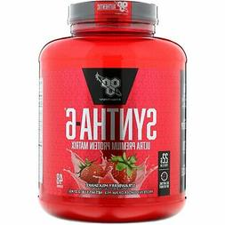 Protein Supplements 5.04 lb  BSN Syntha-6 Strawberry Milk Sh