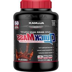 ALLMAX Nutrition QuickMass 6lb - High Calorie Protein Supple