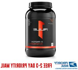 R1 Rule One Protein 2.5 Lbs 100% Ultra Pure Whey Isolate Hyd