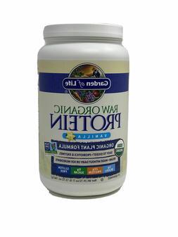 Garden of Life Raw Organic Protein Vanilla Powder, 27 Servin