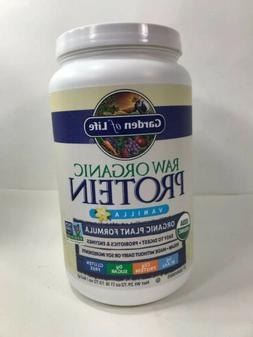 Garden of Life Raw Organic Protein Vanilla Powder 27 Serving