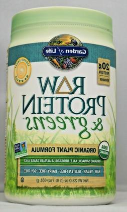 Raw Protein & Greens Lightly Sweetened Garden of Life 656 g