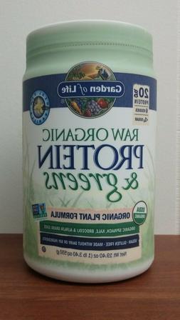 Raw Protein & Greens Vanilla Garden of Life 557 g Powder