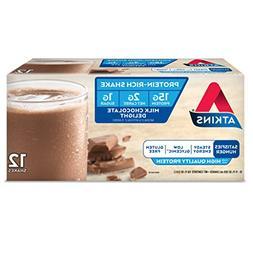 Atkins Gluten Free Protein-Rich Shake, Milk Chocolate Deligh