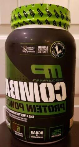 Sealed! MusclePharm combat Protein Powder Vanilla 2 lbs. No