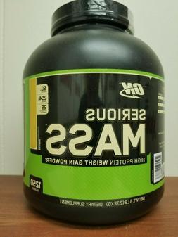 Optimum Nutrition Serious Mass 6Lb Weight Gain Powder ON Pro