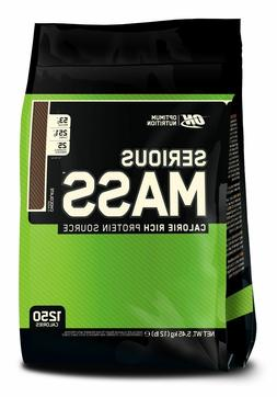 Optimum Nutrition Serious Mass Weight Gainer Protein Carb Po