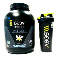 Vega Sport Vegan Paleo Probiotic Protein Powder - 4 lbs, 4 F