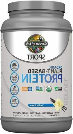 Garden Of Life Sport Organic Plant-Based Protein - Vanilla 2