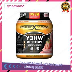 Body Fortress Super Advanced Whey Protein Powder Strawberry,