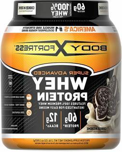 Super Advanced Whey Protein Powder, Gluten Free, Cookies N'
