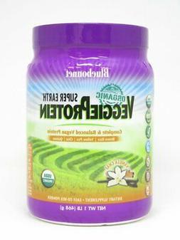 Super Earth Organic Veggie Protein Vanilla Chai Bluebonnet 1