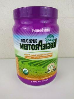 Super Earth Organic Veggie Protein Vanilla Chai 1 lb Powder
