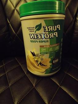 Pure Protein Super Food PlantBased Protein Powder Vanilla Be