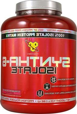 BSN Syntha-6 Isolate Strawberry 4 lbs
