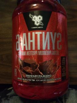 BSN Syntha-6 Protein Powder, Chocolate Milkshake, 5 Pound