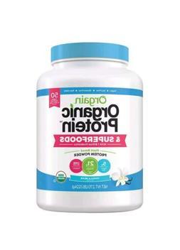 Orgain USDA Organic Protein and SuperFoods Vanilla Bean Prot