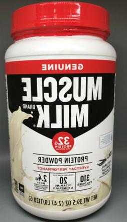 Muscle Milk Naturals Natural Vanilla Lean Muscle Protein Pow