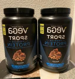 Vega Sport Performance Protein Mocha - SeQuel - 28.6 oz - Po