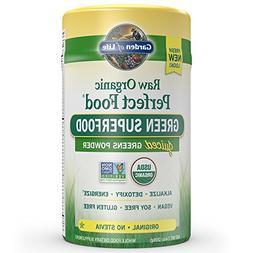 Garden of Life Vegan Green Superfood Powder - Raw Organic Pe
