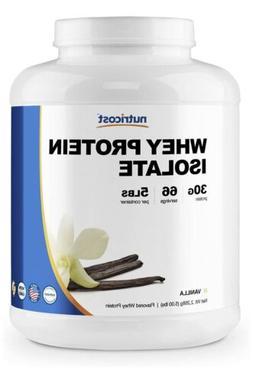 Vitacost Whey Protein Isolate Vanilla 5lbs