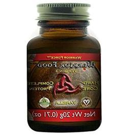 Warrior Food Hard Core Complete Protein Vanilla Raw Vegan Gl