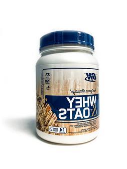 OPTIMUM NUTRITION Whey & Oats Protein Powder, Breakfast Or A