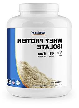 Nutricost Whey Protein Isolate  5LBS - Premium Protein Powde