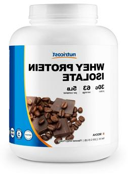 Nutricost Whey Protein Isolate  5 LBS - Non GMO, Gluten Free