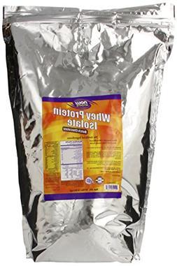 NOW Sports Whey Protein Isolate, Creamy Chocolate, 10-Pound