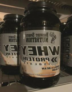 BOISVERT SPORTS NUTRITION WHEY Protein Isolate Powder Vanill