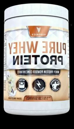 Whey Protein Powder All Natural ingredients. Vanilla GNC iso