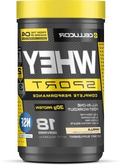 Cellucor Whey Sport Protein Powder NSF Certified with Whey,