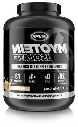 xpi myotein isolate protein powder 5lbs french